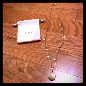 J. Crew necklace gold